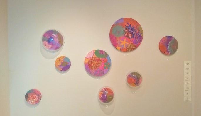 上野瑞香 日本画展 風景